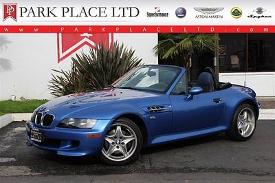 BMW : Z3 M Roadster 1999 bmw z 3 m roadster estorial blue and just 1 483 miles