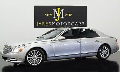 Maybach : 57 S ($426K MSRP) 2011 maybach 57 s 426 k msrp silver on black 22 k miles pristine car warranty