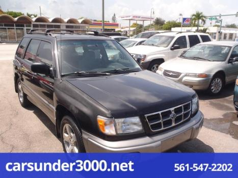 1998 Subaru Forester 4dr S Manual AWD