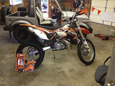 KTM : Other 2014 ktm 200 xc w electric start dirt bike tagged and titled for street exc sx