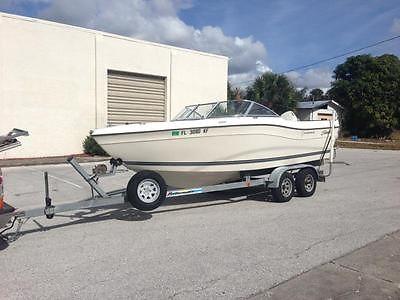 Seaswirl Striper 2100 Bow rider Fishing boat Dual axle trailer! LOW HOURS!!!