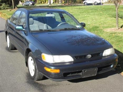 Toyota : Corolla 4dr Sdn DX M 1996 toyota corolla dx 1.8 engin 53 k original miles one owner all original nice