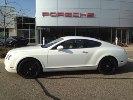Bentley : Continental GT 2dr Cpe 2007 bentley coupe awd low miles