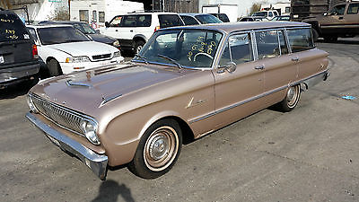 Ford : Falcon Wagon 1962 ford falcon wagon nice see video of driving