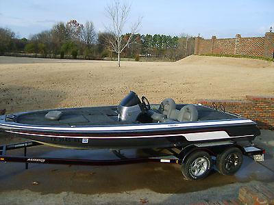 2005 Skeeter TZX200 Bass Boat Damaged Money Maker