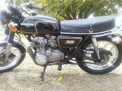 Honda : CB 1973 honda cb 350 f vintage honda motorcycle cb 350 runs great nice