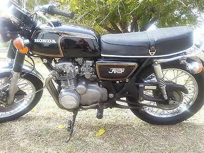 Honda : CB 1973 honda cb 350 f beautiful honda motorcycle titled runs great nice