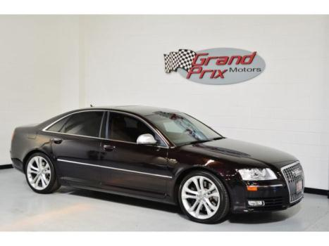 Audi : S8 4dr Sdn 2009 audi s 8 quattro sedan 4 d low 38 k miles b o sound nav heated seats 450 hp v 10