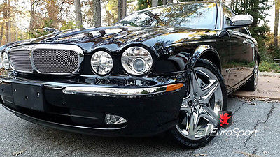 Jaguar : XJR Super 8 V8 2 TVs shades 4 zone A/C Adaptive Cruise FANTASTIC 07 Super 8 V8 Blk/Blk XM TV 19