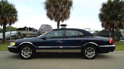 Lincoln : Continental CONTINENTAL 2001 lincoln continental luxury sedan 68 000 florida miles excellent condition
