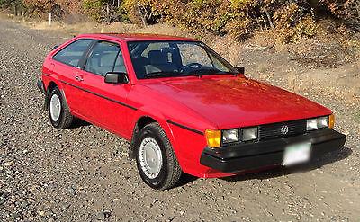 Volkswagen : Scirocco MKII 1987 vw sirocco excellent original stock condition rare