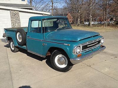 International Harvester : Other Diesel 1968 international factory diesel pickup
