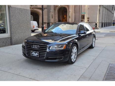Audi : A8 3.0T Quattro 2015 audi a 8 l 3.0 t quattro moonlight blue with black