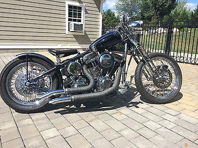 Custom Built Motorcycles : Bobber Springers Custom Cycles: Custom Bobber