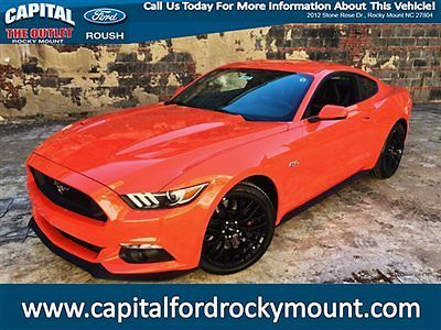 Ford : Mustang 2dr Fastback GT Premium 2015 ford mustang gt premium competition orange