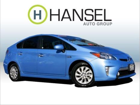 2012 TOYOTA Prius Plug-In Base 4dr Hatchback