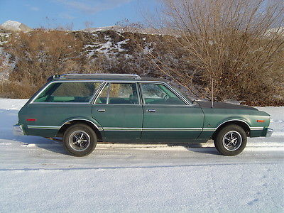 Plymouth : Other Volare Wagon 1979 plymouth volare wagon super 6 auto 79 k miles solid dodge aspen mopar