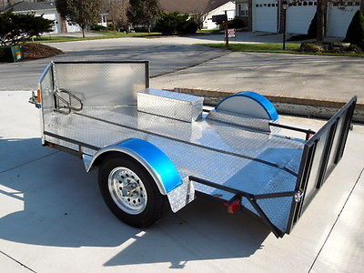 5x10 Low Profile Motorcycle Trailer Rvs For Sale