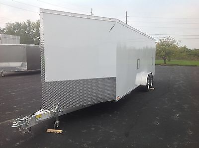 2015 NEW All Aluminum Enclosed 3-Place Snowmobile/ ATV Trailer PRE-SEASON SALE