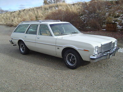 Dodge : Other Aspen Wagon Nice 1979 Dodge Aspen Wagon..Super 6..Auto..Air..35k Miles.Plymouth Volare Mopar