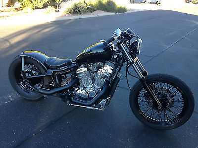 Honda : Shadow Honda Shadow Old School Bobber Chopper Vintage look 60' Style Harley Triumph BSA