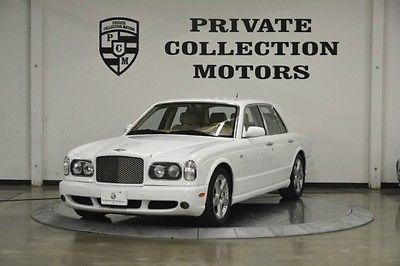 Bentley : Arnage 2003 bentley arnage t mulliner 1 owner clean carfax low