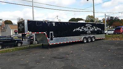 2012 Freedom 40ft. Enclosed Trailer Auto Race Car Loaded Hauler 40' Gooseneck