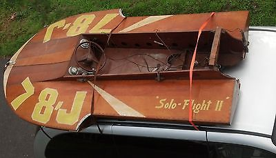 Antique Vintage Race Boat Hydroplane outboard motor