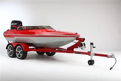 13ft Custom Built Boat Runabout Yacht Tender and Trailer Package