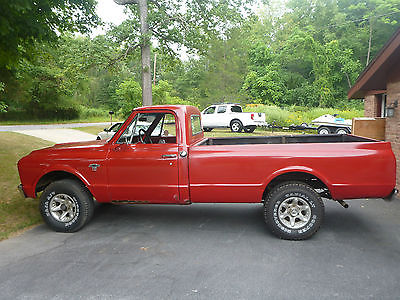 Chevrolet : Other Pickups K 10 1967 chevrolet pickup k 10 k 10 factory 327 ac newbrakes pick up military lockers