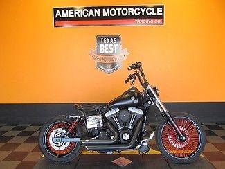 Harley-Davidson : Dyna 2006 used vivid black harley davidson dyna street bob customized bobber fxdbi
