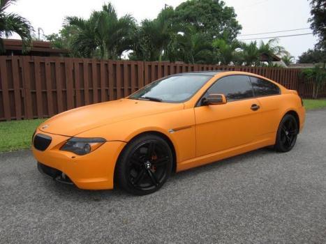 2005 BMW 645 ci Hollywood, FL