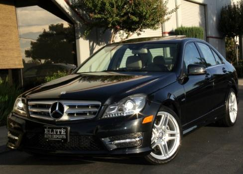 2012 Mercedes-Benz C250 Sport w Navigation and Xenon Headlights