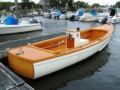 Pulsifer Hampton Wooden Power Boat