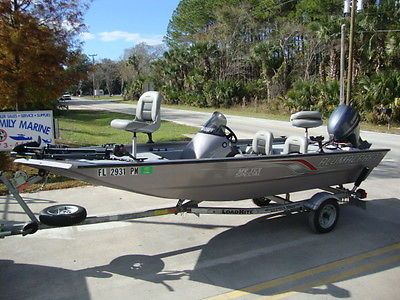 ALMOST NEW - 2011 ALUMACRAFT MV TEX SPECIAL ALUMINUM BASS BOAT ALUMA CRAFT