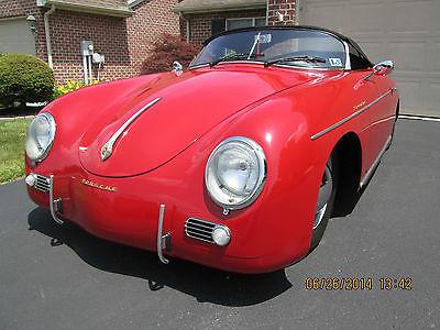 Porsche : 356 356 Speedster 1957 porsche speedster super replica