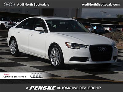 Audi : A6 -Certified Warranty-Quattro-Navigation 7 k miles one owner carfax heated seats dual zone climate sun roof financing