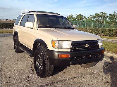 Toyota : 4Runner RARE 3.4 V6 4WD 5 SPEED MANUAL TRANSMISSION 1996 Toyota 4  Runner Sr