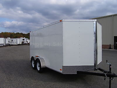 New 7' x 14' Enclosed Trailer