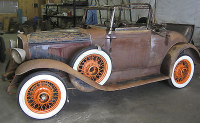 Pontiac : Other Pontiac 6 1931 pontiac model 401 convertible coupe