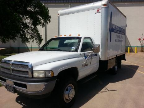 1998 Dodge Ram 3500 5-Speed Box Truck Cummins Diesel