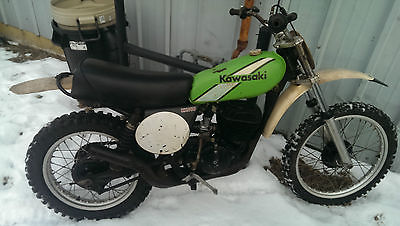 Kawasaki Kx 1975 Kawasaki Kx  Ahrma Vintage Motocross Bike Original Condition Mx