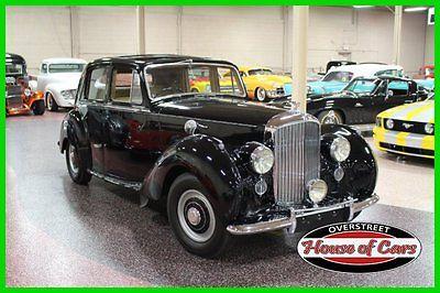 Bentley : Other BENTLEY MARK VI, SALOON,PRESSED STEEL 1951 bentley mark vi saloon high top