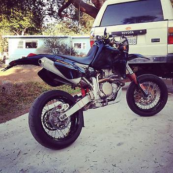 Honda : XR 2001 honda xr 650 r supermoto ca plated street legal supermotard 650 r 650 motard