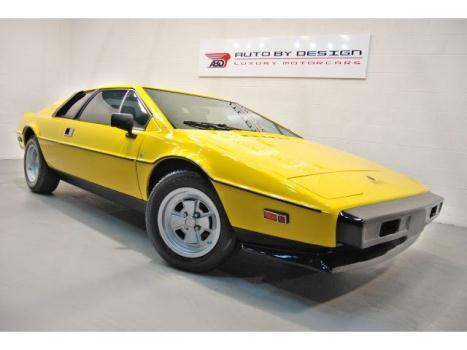 Lotus : Esprit S2 RARE FIND! 1979 Lotus Esprit S2 - Only 13,313 Original Miles! Collecter Car!