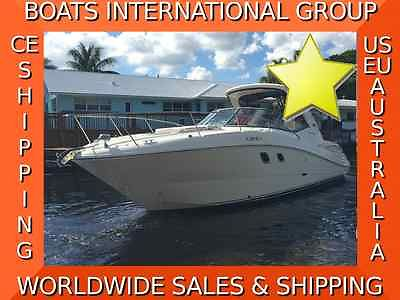 2010 SEA RAY 330 SUNDANCER AXIUS JOYSTICK LOADED CE We Ship/Export Worldwide