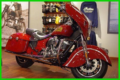 Indian : Indian Chieftain 2014 indian indian chieftain chieftain indian motorcycle red new
