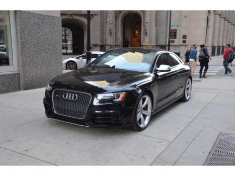 Audi : Allroad 2dr Cpe RS5 Coupe, Phantom Black with Black Interior, Carbon Fiber Console...