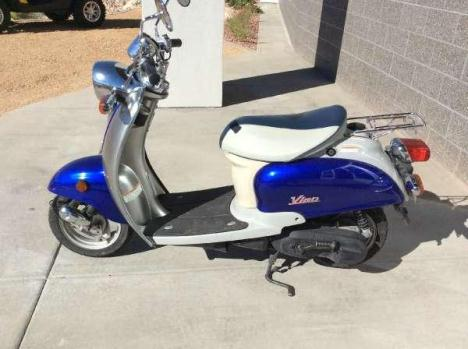 2005 yamaha vino 125 motorcycles for sale. Black Bedroom Furniture Sets. Home Design Ideas