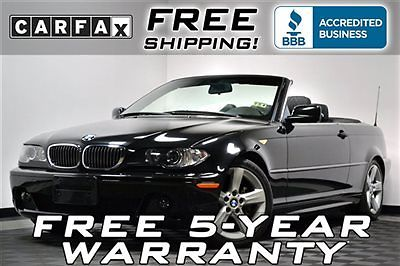 BMW : 3-Series 325Ci Convertible Sport Low Miles 58 k miles loaded free shipping or 5 year warranty convertible leather 325 i 330